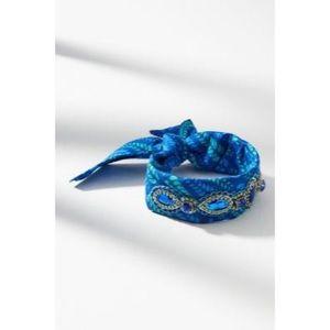 Anthropologie Jeweled Bandana Bracelet
